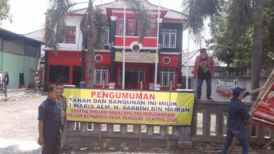 Tanah Kantor DPC PDI Perjuangan Kab. Bekasi Masih Disoal