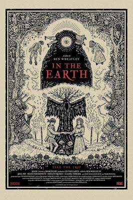 In The Earth Screen Print by Richard Wells x Mondo