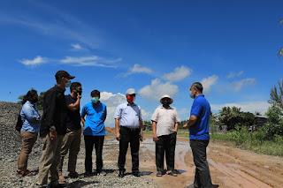 Walikota Tarakan Meninjau Langsung Kawasan Wisata Pantai Amal Baru - Tarakan Info