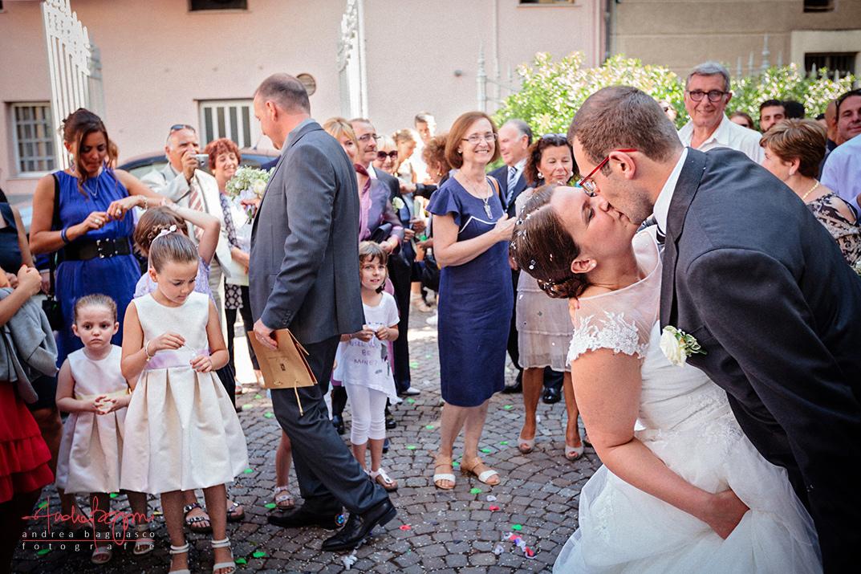 bacio sposi matrimonio Stella Maris Albisola