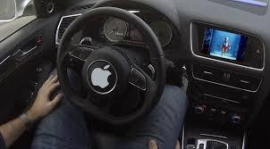 Apple self driving cars
