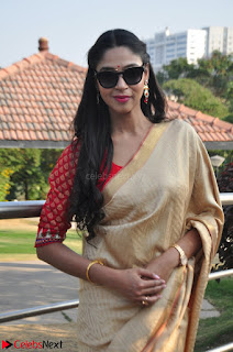 Angana Roy in Silk Saree at Teaching Tree Carnival .xyz 025.JPG