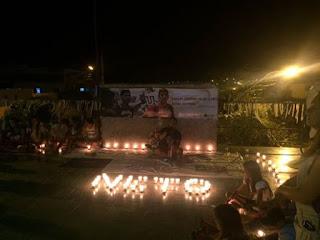 Amigos e familiares realizam movimento pela paz em memória a Neto Borges, assista