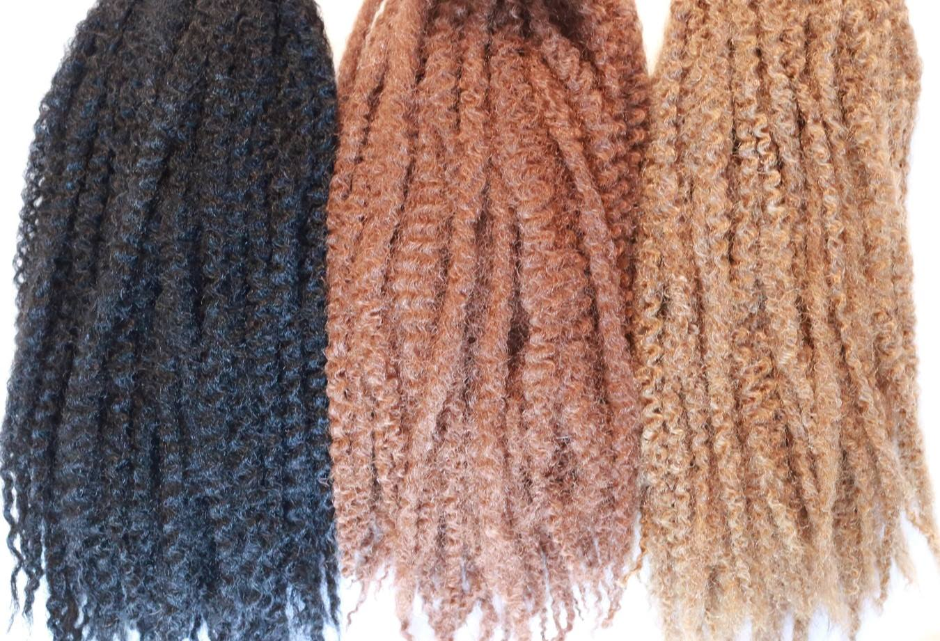 When I Was Installing The Faux Locs Took Down Hair In Each Plaited Section And Separated It Into Smaller Sections Then Added Some Cantu Shea Er