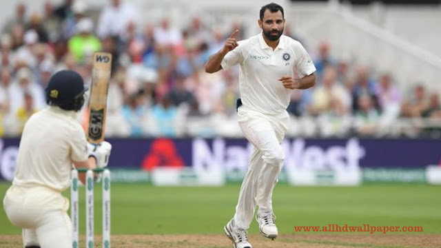 Mohammed Shami Ahmed Test Cricketer Wallpapers