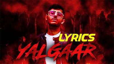 carryminati yalgaar video out now terrific lyrics