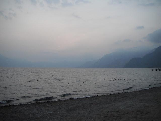 Lake Atitlan Guatemala dusk