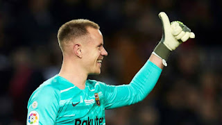Ter Stegen on his upcoming knee surgery: 'I'm calm and positive about the situation'