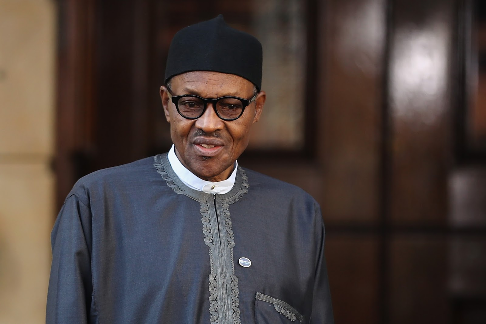 President muhammadu buhari in london