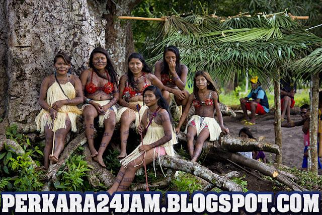 Remaja Suku Pedalaman Amazon Mati Karena Virus Corona