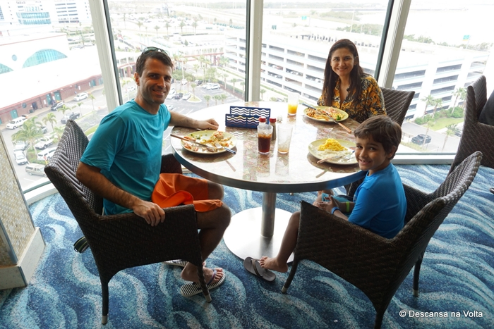 Restaurante Cabanas Disney Dream