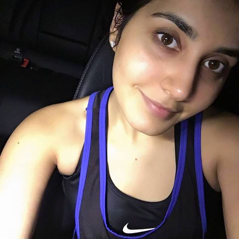 Hot Model Rashi Khanna Fitness Workout In Gym