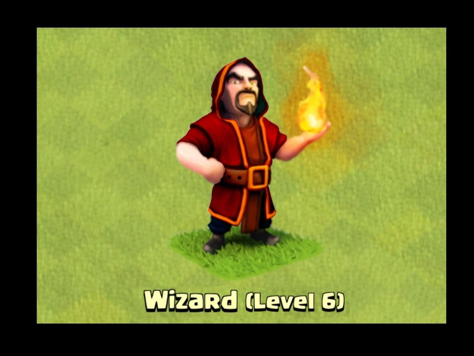clash of clans wizard level 6