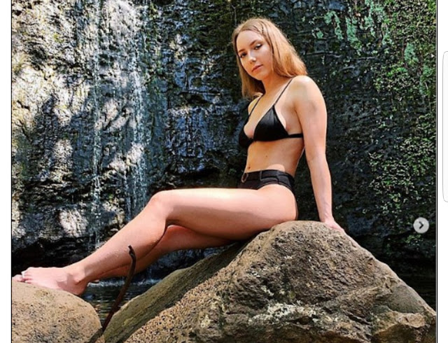 Eminem's daughter Hailie Scott Mathers, 23, flaunts her bikini body during her recent trip to Hawaii (Photos)