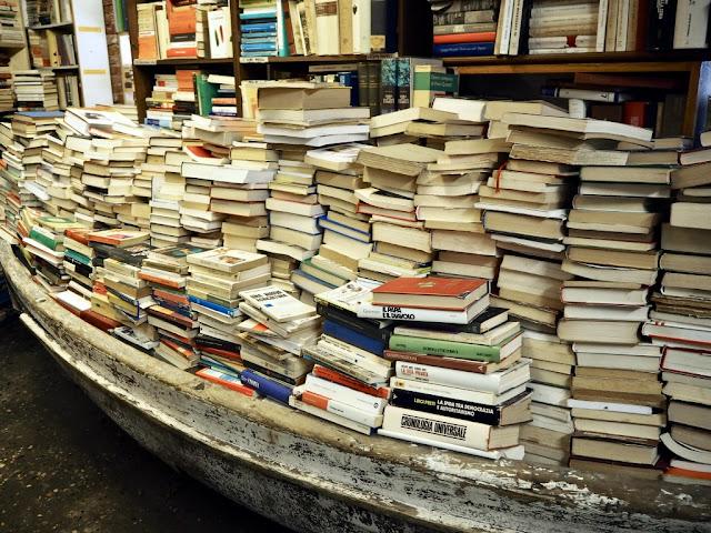 Libreria Aqua Alta - skrytá místa Benátek