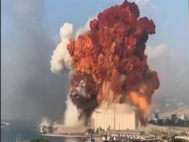 انفجار لبنان - هيروشيما بيروت