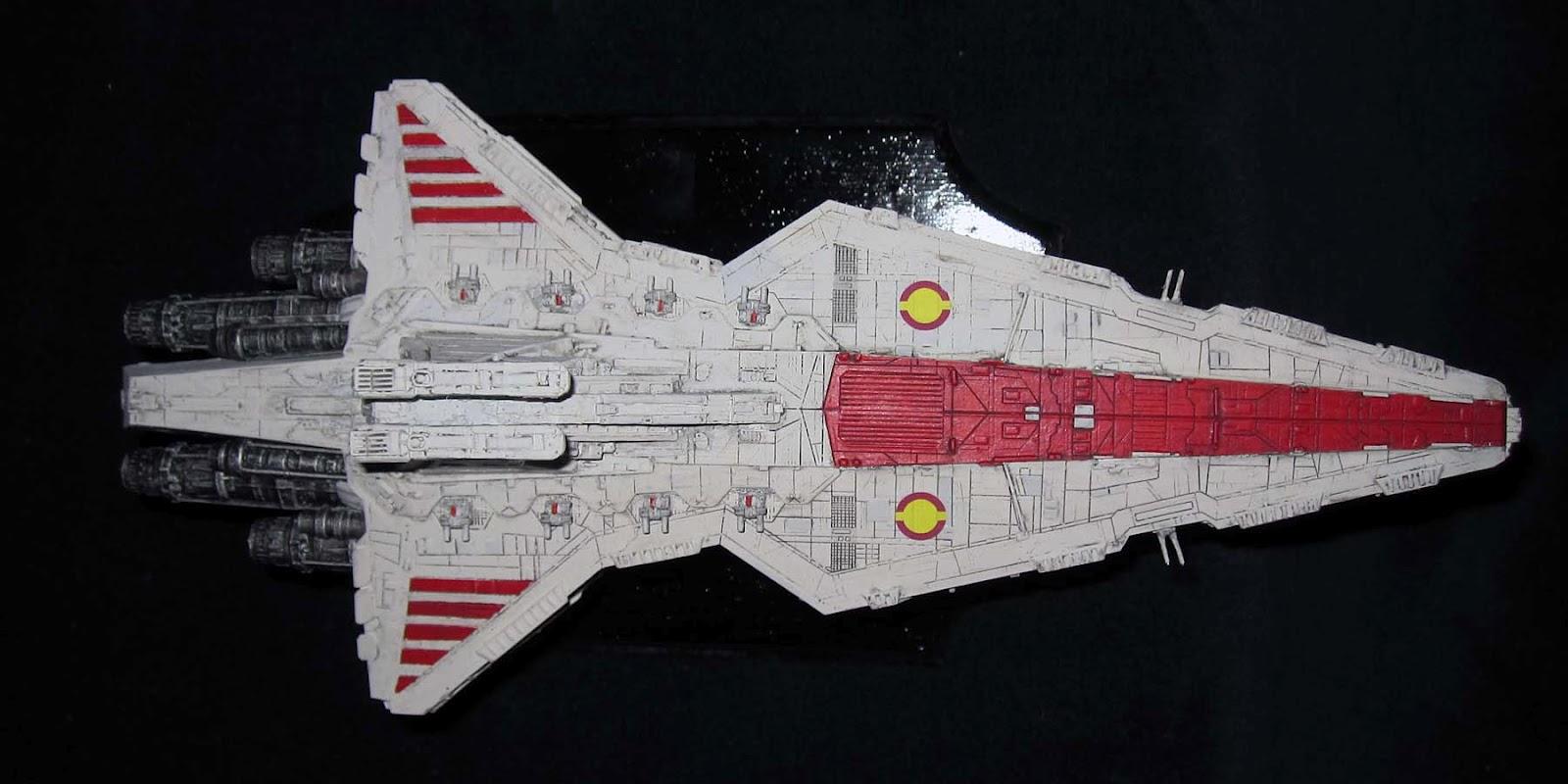 Science Fiction Modeler: Venator Class Republic Star Destroyer