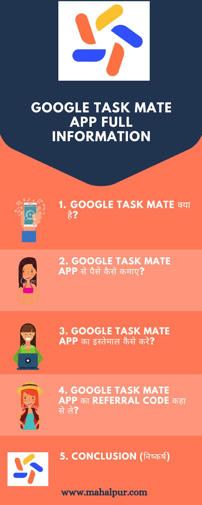 Latest Google Task Mate Kya Hai in Hindi (2021): Very Useful