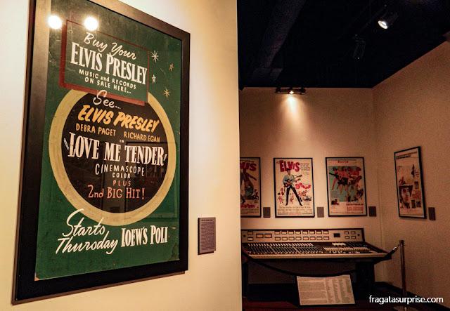 Elvis Presley no Rock'n'Suol Museum de Memphis