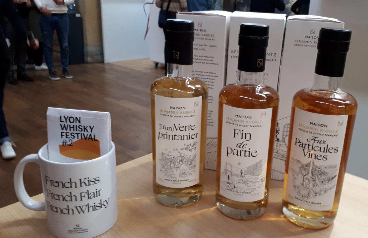 Maison Benjamin Kuentz, éditeur de whisky français