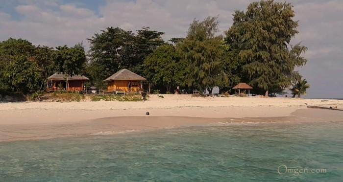 Keindahan Pulau Isau Salah Satu Pulau Tujuh Di Seram Maluku