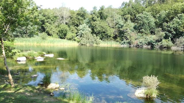 Espelho de água do Rio Cávado