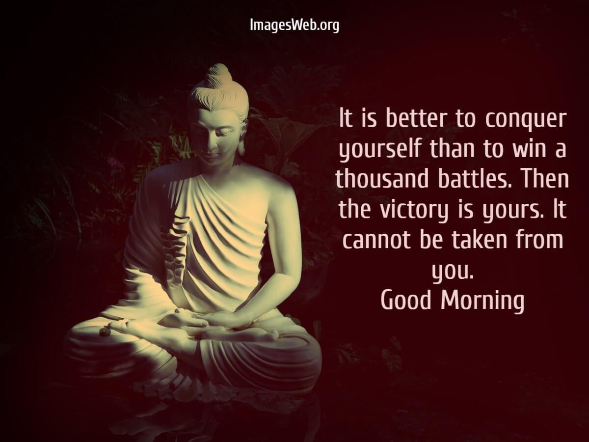 Lord Gautam Buddha Good Morning Quotes