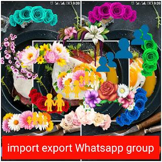 Import Export Whatsapp Group link