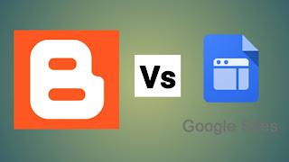 Blogger Vs Google Sites