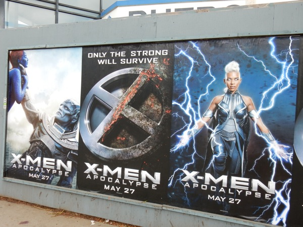 Daily Billboard FILM WEEK X Men Apocalypse Billboards