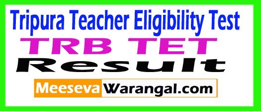 Tripura TET Result Download 2017
