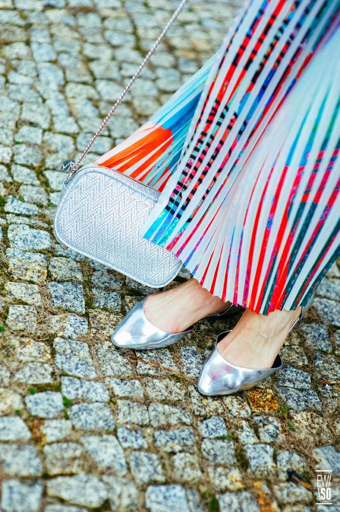 spodnica maxi, maksi spodnica, plisowana maksi, streetstyle, stylizacje