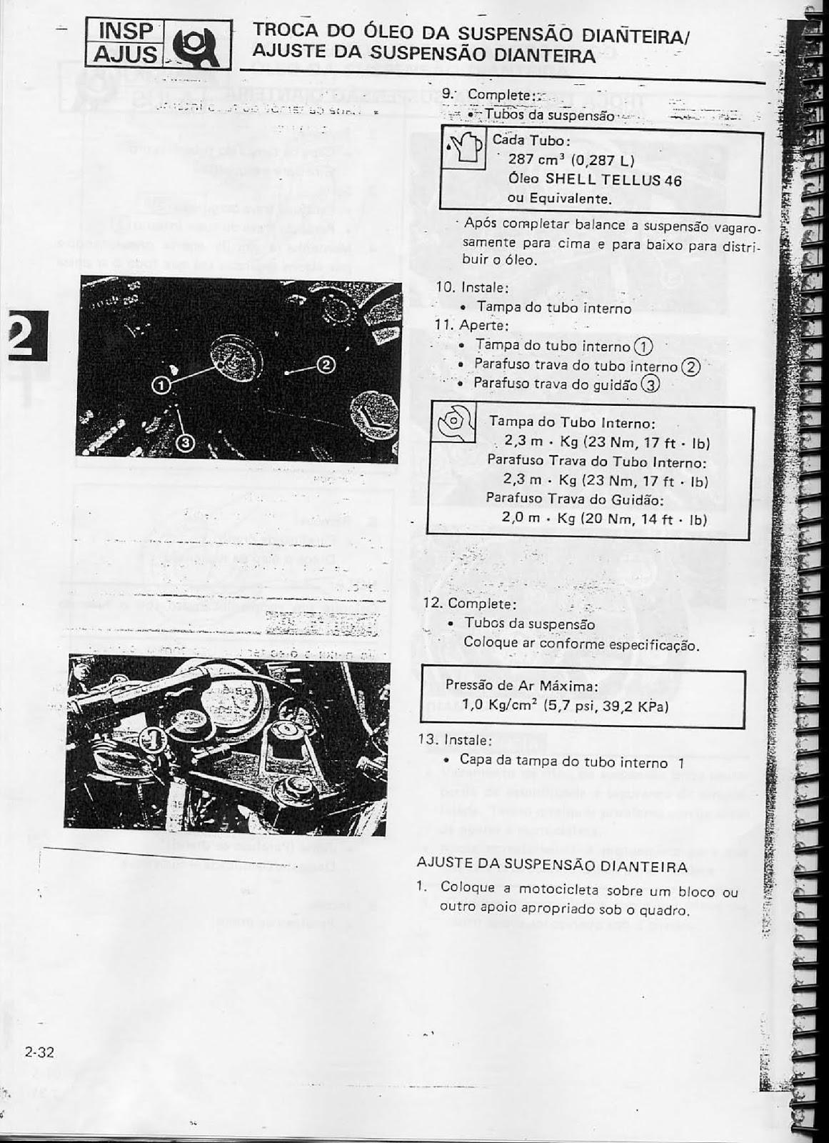 MANUAIS DO PROPRIETÁRIO GRÁTIS: MANUAL DE SERVIÇO YAMAHA