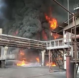 bhilai-steel-plant-fire