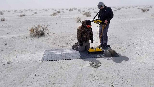 'Ghost' footprints from Pleistocene era revealed by radar tech