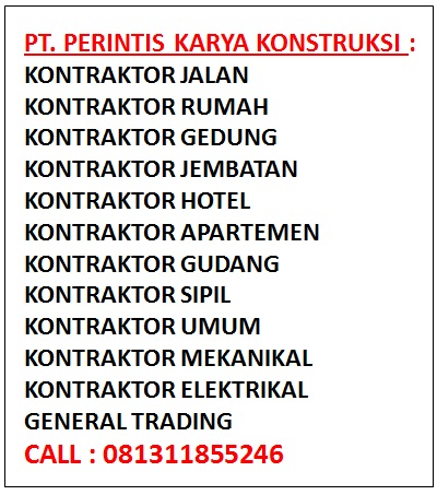 Daftar Perusahaan Kontraktor Bangunan