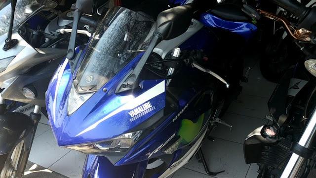 Yamaha R 25 Tahun 2015 Harga 39 Juta di semarang