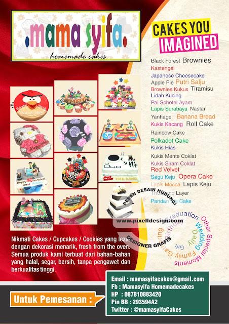 Iklan Roti Kue Ulang Tahun