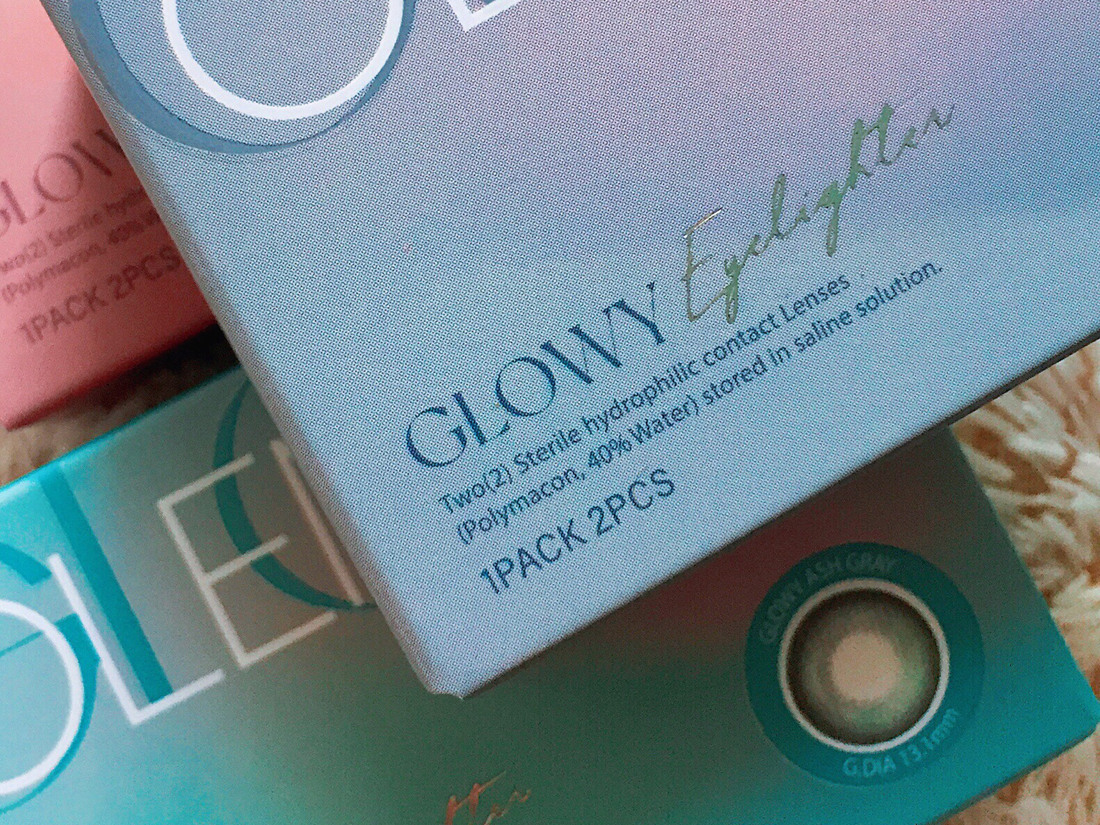 OLENS Eyelighter Glowy Contact Lens Review | chainyan.co