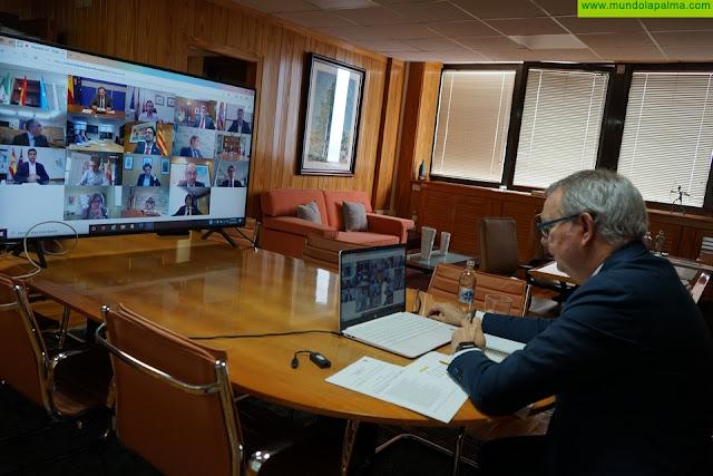 El consejero Franquis pide al Gobierno central que establezca controles con test serológicos y PCR a los pasajeros que quieran viajar a Canarias tras la desescalada