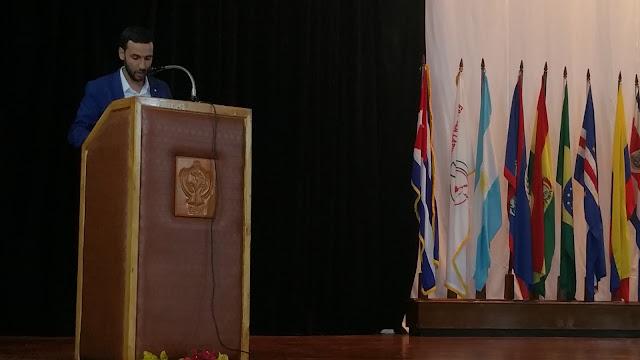 الطلبة الصحراويون يشاركون في فعاليات تخليد ذكرى الزعيم الراحل فيدل كاسترو
