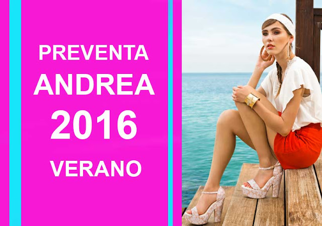 Preventa de catalogos Andrea 2016 de verano