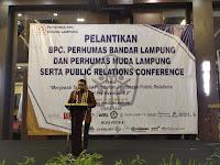 Acara Pelantikan BPC Perhumas Bandar Lampung dan Perhumas Muda Lampung Berjalan Sukses
