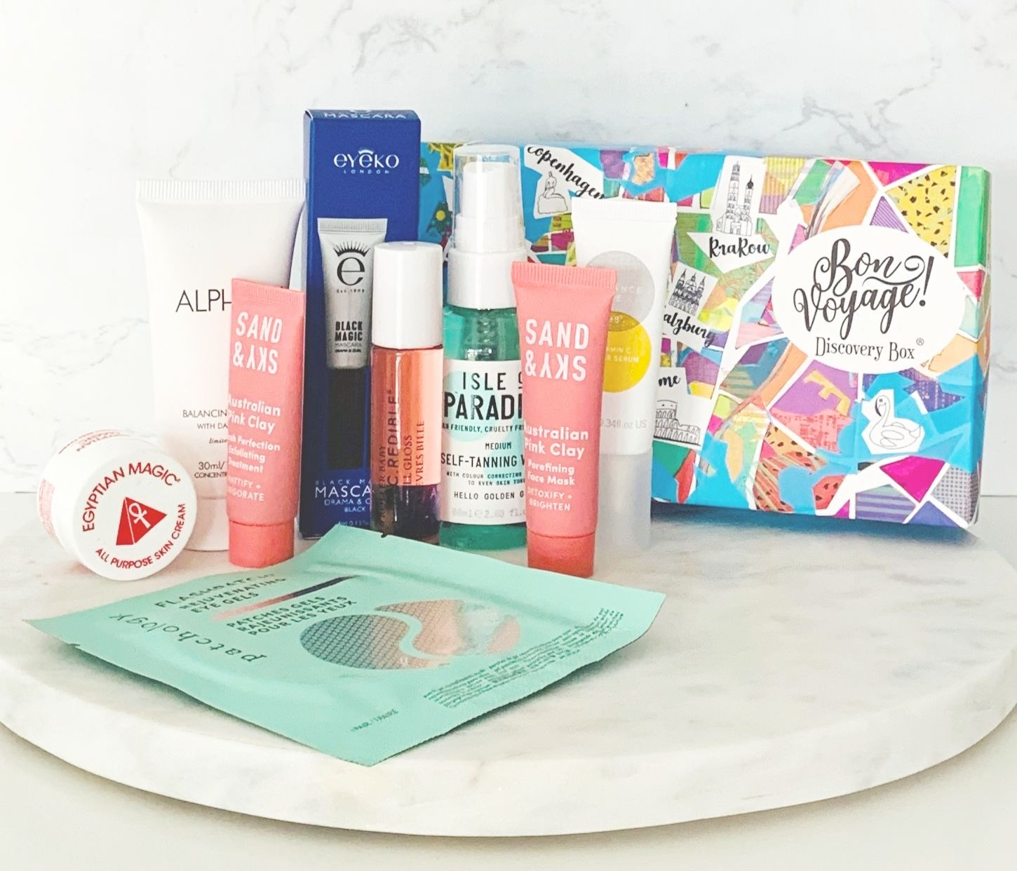 Bon Voyage Discovery Box, Beauty Boat Review