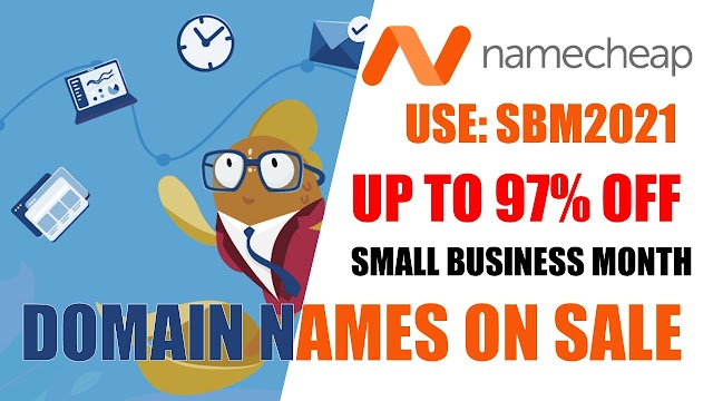 Huge Savings for Small Business Month with Namecheap