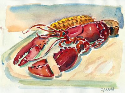 Maine Lobster by Carol Gillott