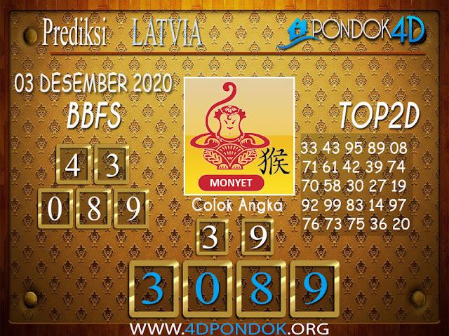 Prediksi Togel LATVIA PONDOK4D 03 DESEMBER 2020