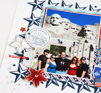 Marcia Dehn-Nix is with us on the blog today, sharing 2 beautiful patriotic-themed layouts!