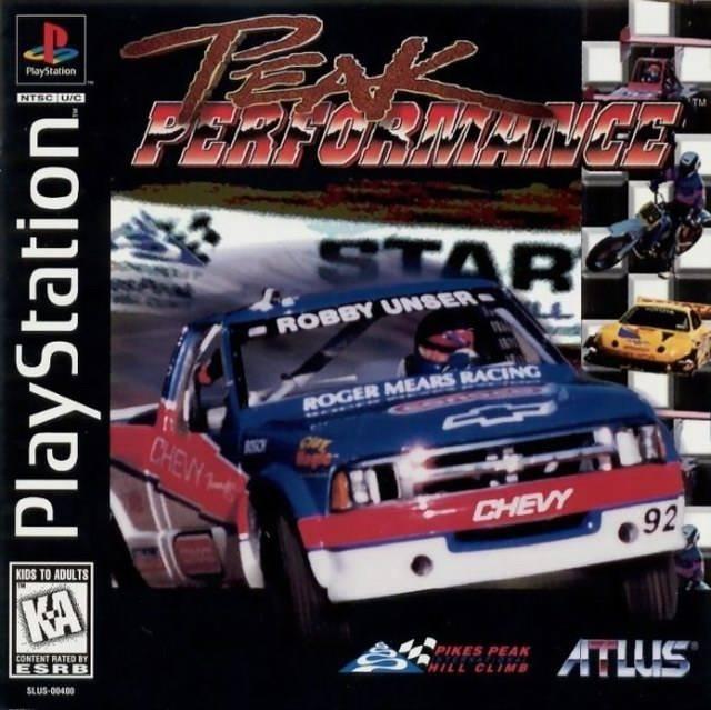 Peak Performance - PS1 - ISOs Download