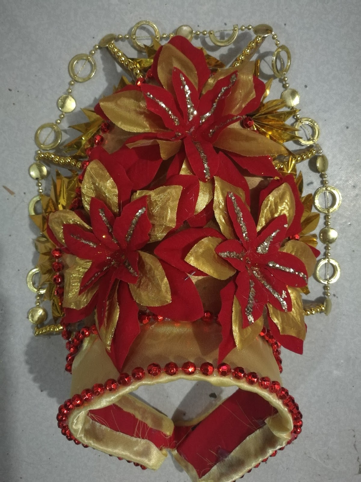 Moms reverie 2017 headdress makes the costume stand out with the right ornaments it will absolutely be an eye catching headpiece heres my upcycled diy india headdress solutioingenieria Gallery
